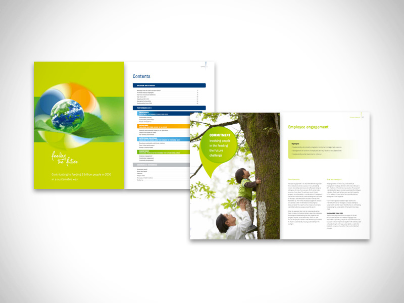 Sustainability report – 72 pages