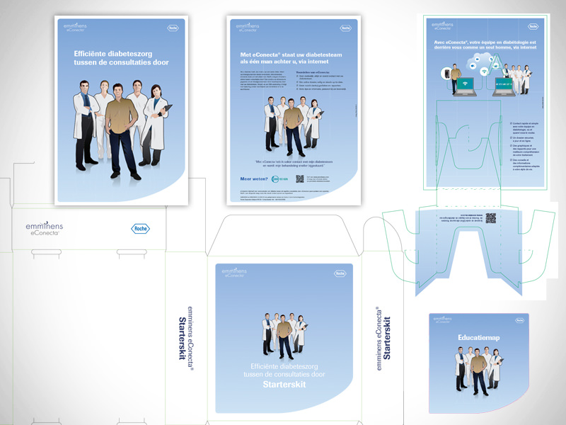 For pharmaceutical company [for communication agency]